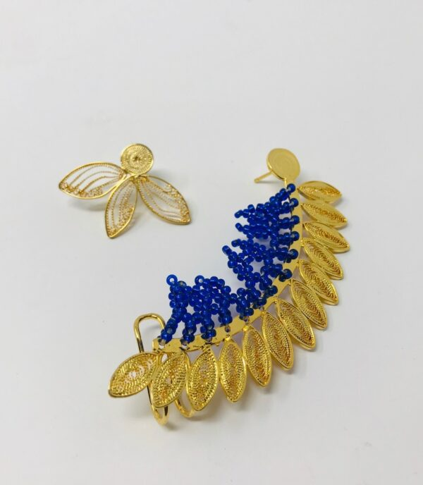 Cobalt Blue Ear Cuff website