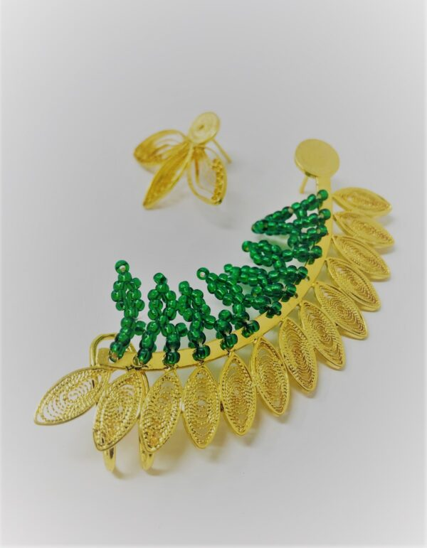 Emeral Ear Cuffs website