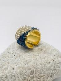 bead_navy_ring
