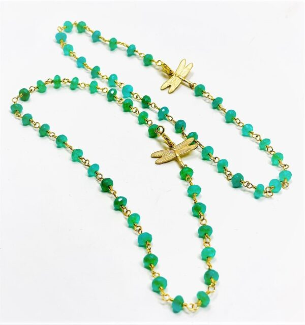 crystal anklet green2